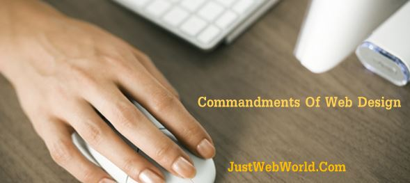 Commandments Of Web Design