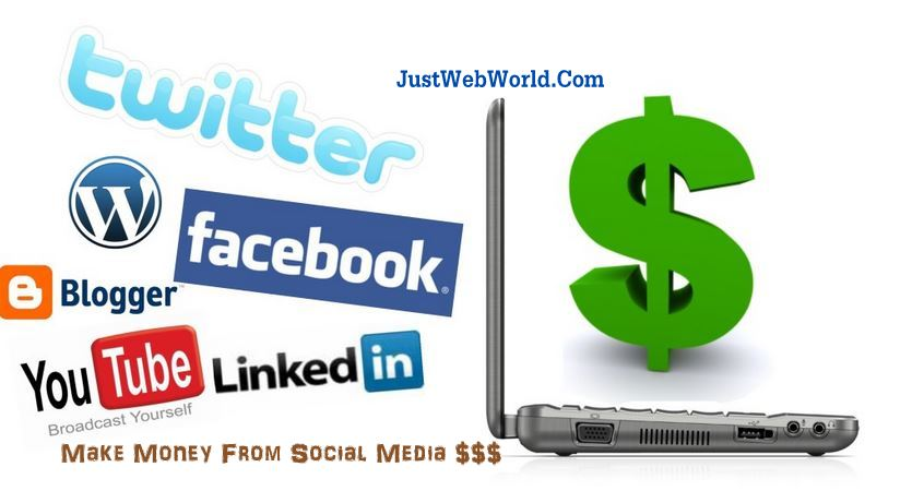 MAKE MONEY USING SOCIAL MEDIA