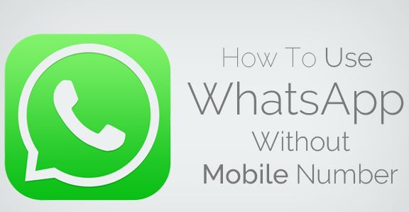 Whatsapp Without Mobile Number