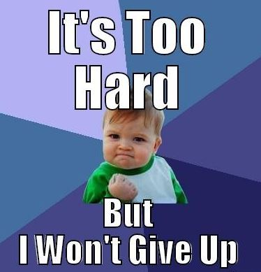 Never Give Up Meme