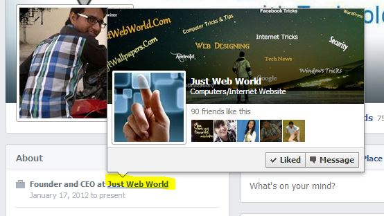 Link facebookpage to profile Effective Ways to Get More Facebook Page Likes