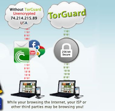 how to change ip address torguard