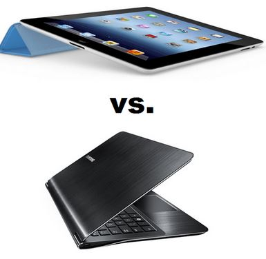 Windows Tablets vs Ultrabooks