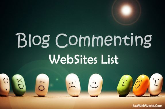 Blog Commenting Sites List | Dofollow High PR [ New 261+ ]