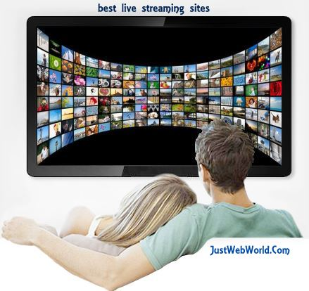 best live tv streaming sites