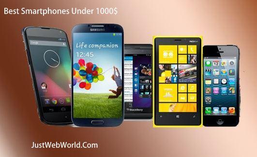 The Best Smartphones Under 1000$