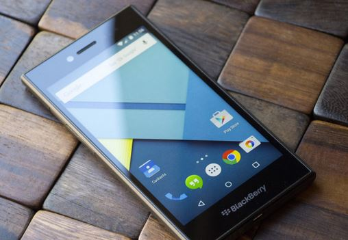 Lowdown on BlackBerry's First Android Phone