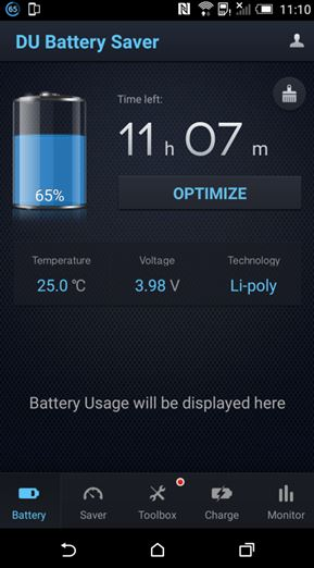 DU Battery Saver App Review