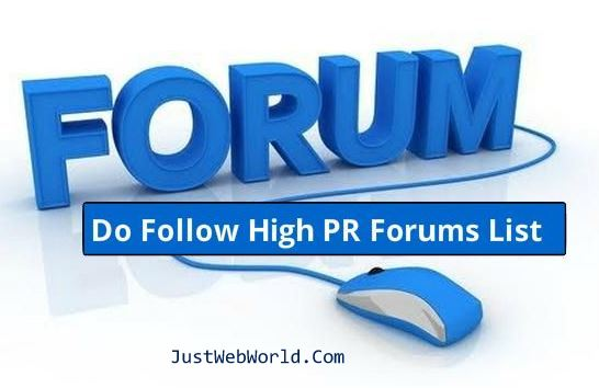 Free Forum Posting Sites List 2016