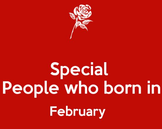Sexy People Born In February