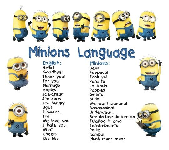 The Minions Language