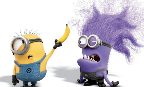 Yellow and Purple Minions