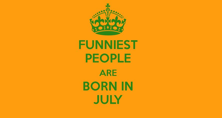 People Born In July Month