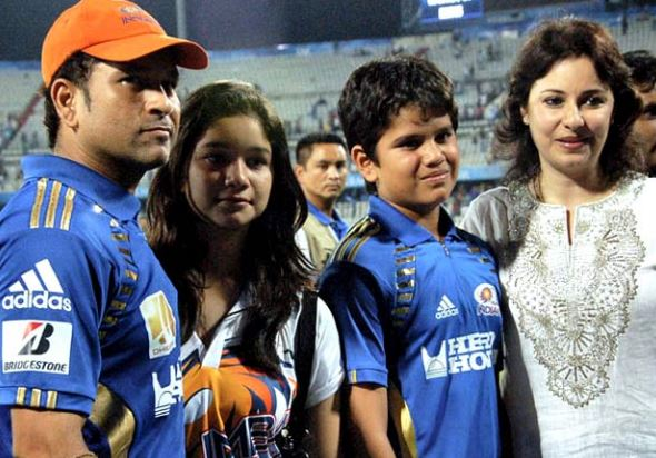 Sachin Tendulkar's pic with Family