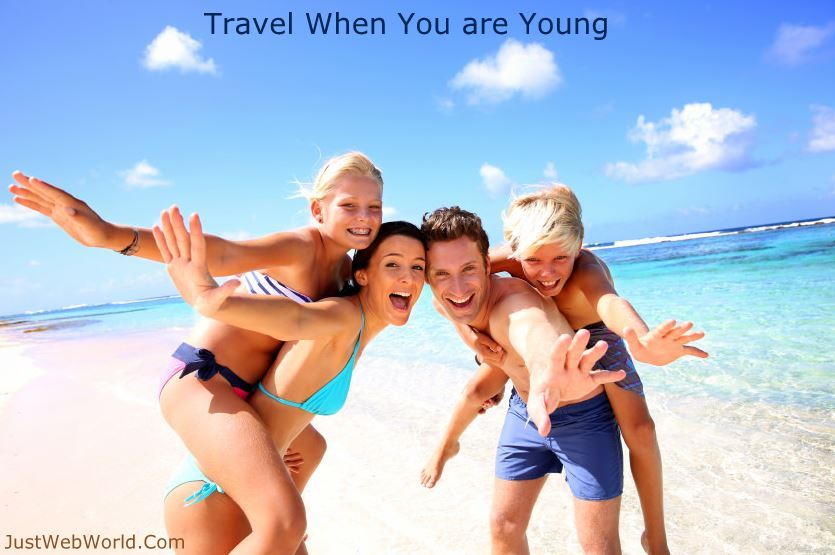 Reasons to travel when you are young