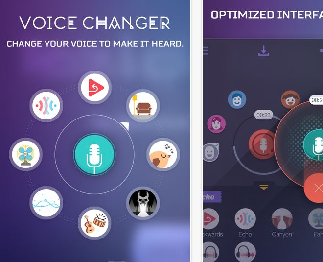 Voice Changer App By YALING TU