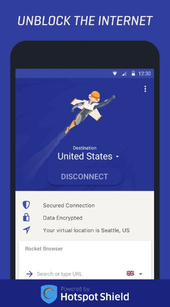 Rocket VPN Design