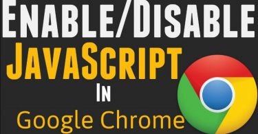 Google Chrome: Enable or Disable JavaScript