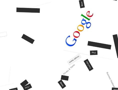 Google Anti Gravity Trick