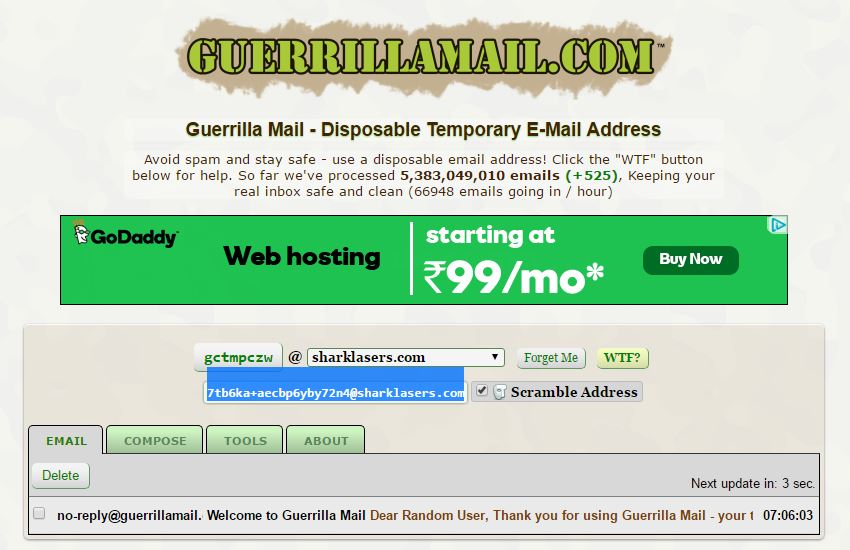 Top 10 Fake Email Generator Sites Online (Temporary Email Services)