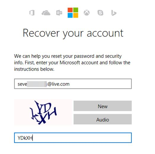 Recover Your Windows 10 Account
