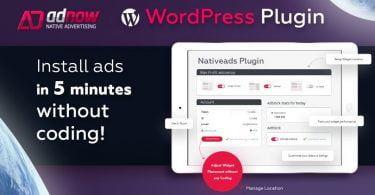 WordPress Plugin of Adnow