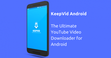 KeepVid Android Video Downloader App