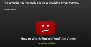How to Watch Blocked YouTube Videos Not Available in your Country