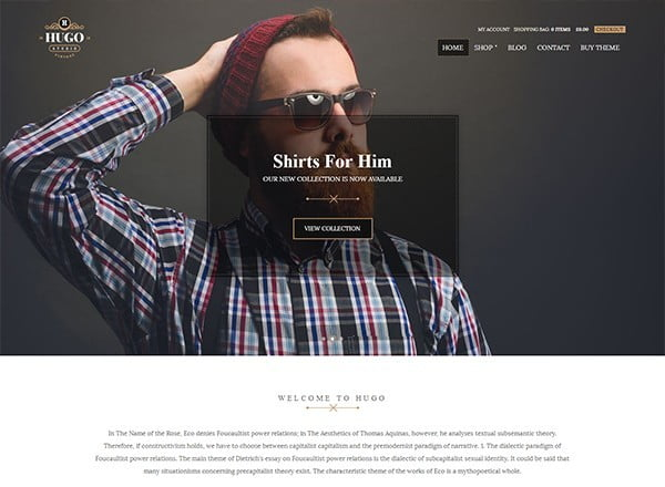 Hugo - WooCommerce Theme For WordPress