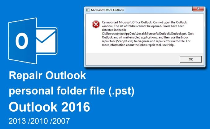 Resolve Outlook PST Repair Issues