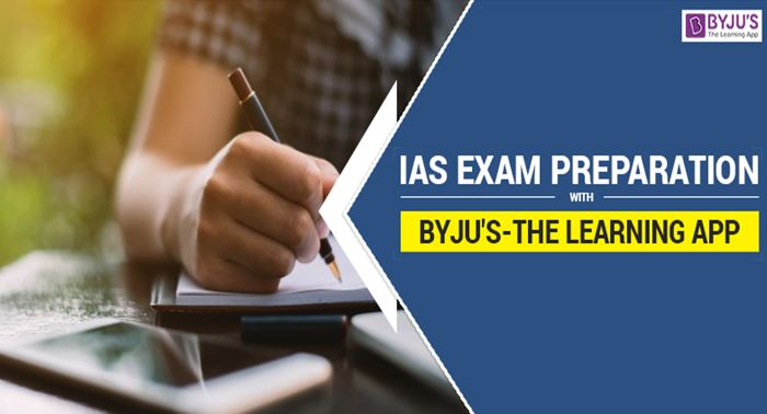IAS Exam Preparation With Byju's