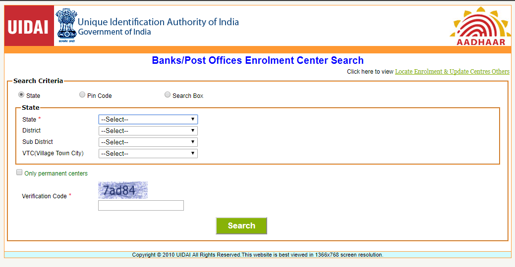 UIDAI Official Site