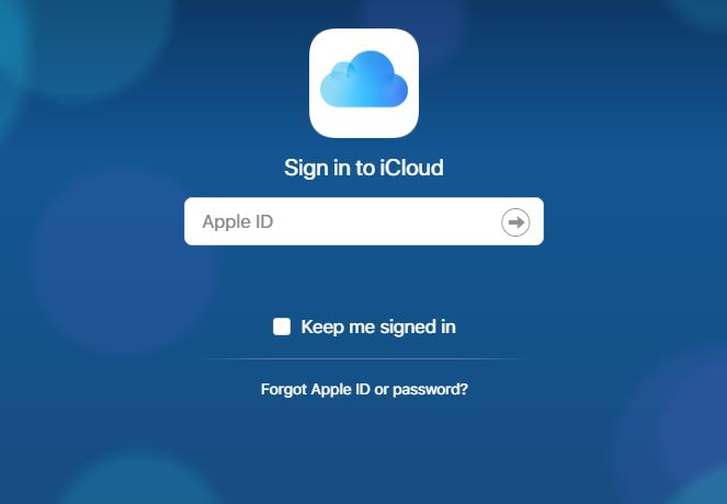 Access and view iCloud backup file