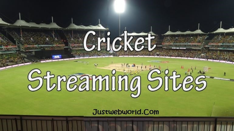 Best Free Live Cricket Streaming Sites In HD