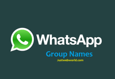 Cool Whatsapp Group Names Collection