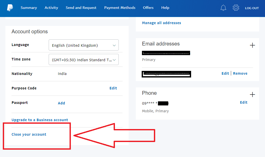 Delete/Cancel Your Paypal Account