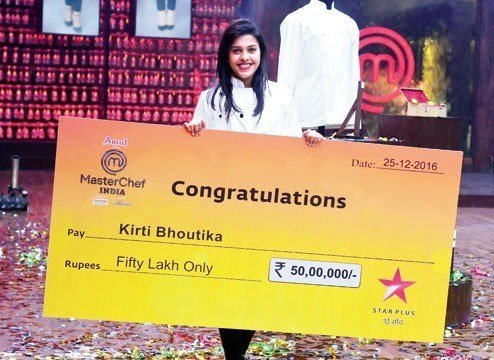 MasterChef India 5 Winner - Kirti Bhoutika
