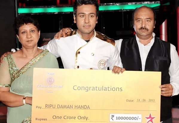 MasterChef India 3 Winner - Ripudaman Handa