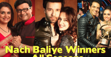 Nach Baliye Winners List of All Seasons