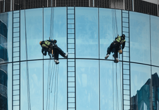 Cleaning Tall Buildings Windows (Updated)