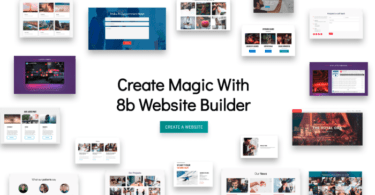 8b Website Builder