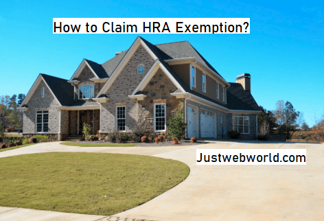 How to Claim HRA Exemption?