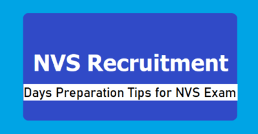 Important Tips to Qualify NVS Exam