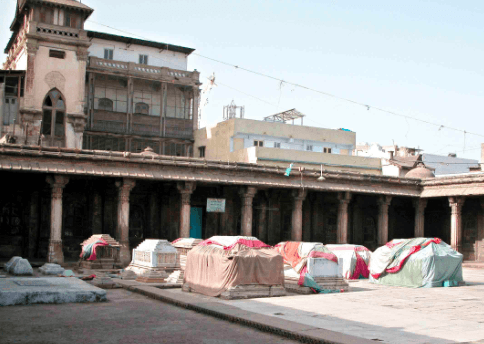 Rani no Hajiro - Historical landmark in Ahmedabad, Gujarat