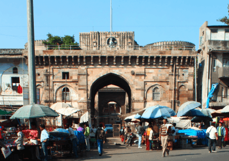 Bhadra Fort - Fortress in Ahmedabad, Gujarat