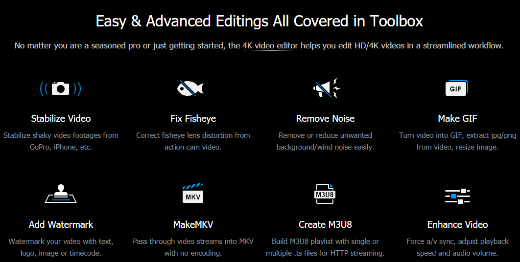 Easy & Advanced Editings