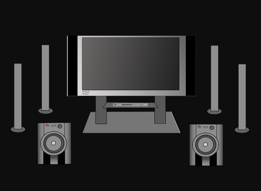 Home theatre experience
