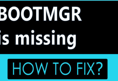 """""""BOOTMGR is Missing"""" - How to Fix?"""