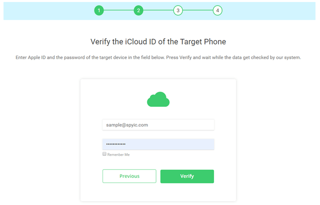 Spyic and iCloud synchronization