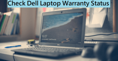 Check Dell Laptop Warranty Status
